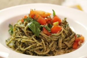 Pasta with Vegan Pesto