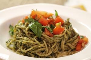 Pasta with Vegan Pesto