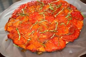 Tomato Tarte Tatin Done