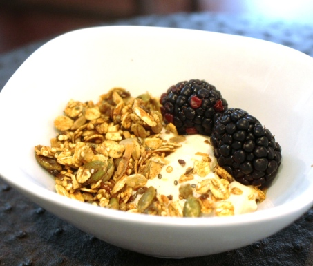 easy homemade granola blog